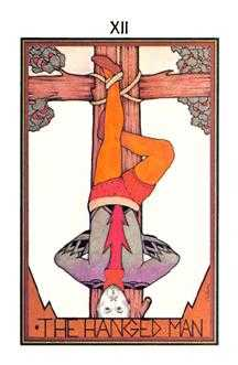 The Hanged Man Tarot Card - Aquarian Tarot Deck