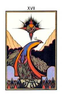 The Star Tarot Card - Aquarian Tarot Deck
