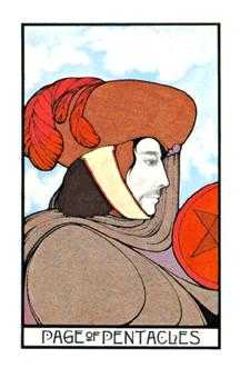 Daughter of Discs Tarot Card - Aquarian Tarot Deck