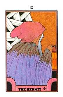 The Wise One Tarot Card - Aquarian Tarot Deck