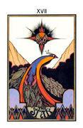 The Star Tarot card in Aquarian Tarot deck