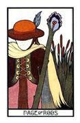 Page of Rods Tarot card in Aquarian Tarot deck