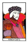 King of Cups Tarot card in Aquarian deck