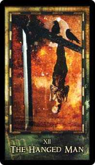 The Hanged Man Tarot Card - Archeon Tarot Deck