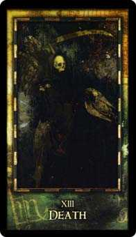 Death Tarot Card - Archeon Tarot Deck