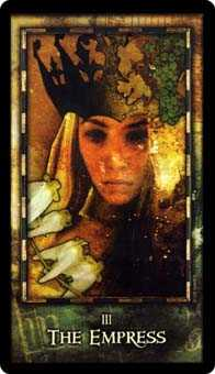 The Empress Tarot Card - Archeon Tarot Deck