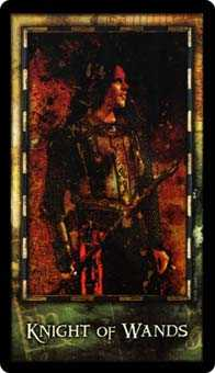 Prince of Staves Tarot Card - Archeon Tarot Deck