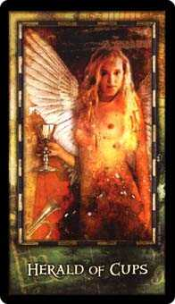 Page of Hearts Tarot Card - Archeon Tarot Deck