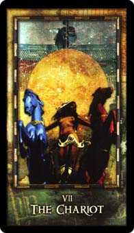 The Chariot Tarot Card - Archeon Tarot Deck