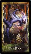 The Fool Tarot card in Archeon Tarot deck
