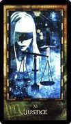 Justice Tarot card in Archeon deck