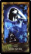 The Star Tarot card in Archeon Tarot deck