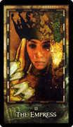 The Empress Tarot card in Archeon Tarot deck