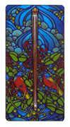 Ace of Staves Tarot card in Art Nouveau Tarot deck