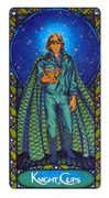 Knight of Cups Tarot card in Art Nouveau Tarot deck