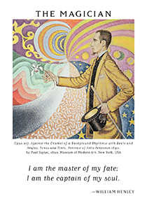 The Magician Tarot Card - Art of Life Tarot Deck