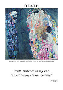 Death Tarot Card - Art of Life Tarot Deck