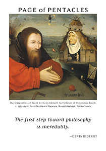 Page of Spheres Tarot Card - Art of Life Tarot Deck