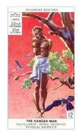 The Hanged Man Tarot Card - Cagliostro Tarot Deck