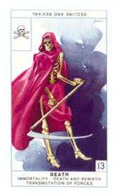 The Close Tarot Card - Cagliostro Tarot Deck