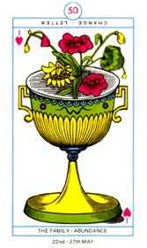Ace of Cups Tarot Card - Cagliostro Tarot Deck
