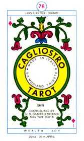 Ace of Discs Tarot Card - Cagliostro Tarot Deck