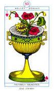 Ace of Hearts Tarot card in Cagliostro Tarot deck
