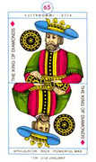 King of Diamonds Tarot card in Cagliostro Tarot deck