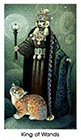 cat-people - King of Wands