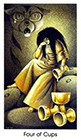 cat-people - Four of Cups