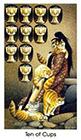 cat-people - Ten of Cups