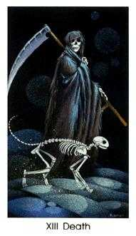Death Tarot Card - Cat People Tarot Deck