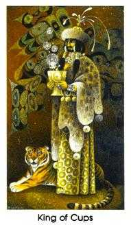 Shaman of Cups Tarot Card - Cat People Tarot Deck
