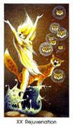 Judgement Tarot card in Cat People deck