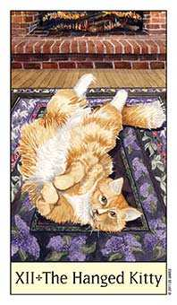 The Hanged Man Tarot Card - Cat's Eye Tarot Deck