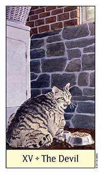 The Devil Tarot Card - Cat's Eye Tarot Deck