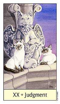 The Judgment Tarot Card - Cat's Eye Tarot Deck