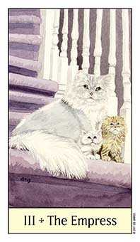 The Empress Tarot Card - Cat's Eye Tarot Deck