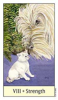 Strength Tarot Card - Cat's Eye Tarot Deck