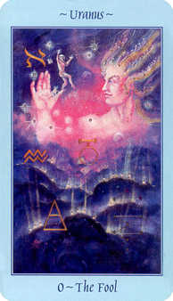 The Foolish Man Tarot Card - Celestial Tarot Deck