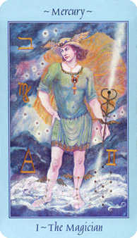 The Magus Tarot Card - Celestial Tarot Deck