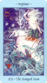 The Hanged Man Tarot Card - Celestial Tarot Deck