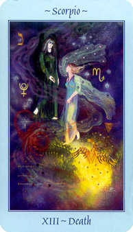 The Close Tarot Card - Celestial Tarot Deck