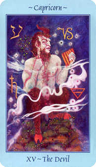 The Devil Tarot Card - Celestial Tarot Deck