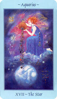 The Star Tarot Card - Celestial Tarot Deck