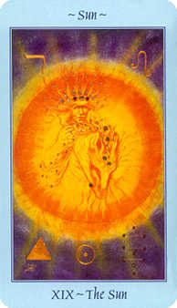 The Sun Tarot Card - Celestial Tarot Deck
