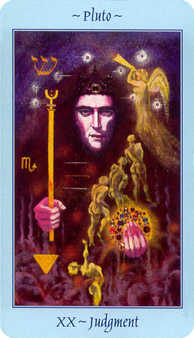 Judgment Tarot Card - Celestial Tarot Deck