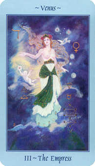 The Empress Tarot Card - Celestial Tarot Deck