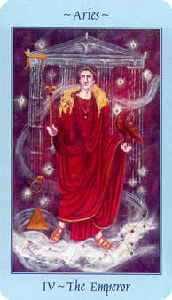 The Emperor Tarot Card - Celestial Tarot Deck