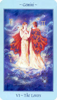 The Lovers Tarot Card - Celestial Tarot Deck